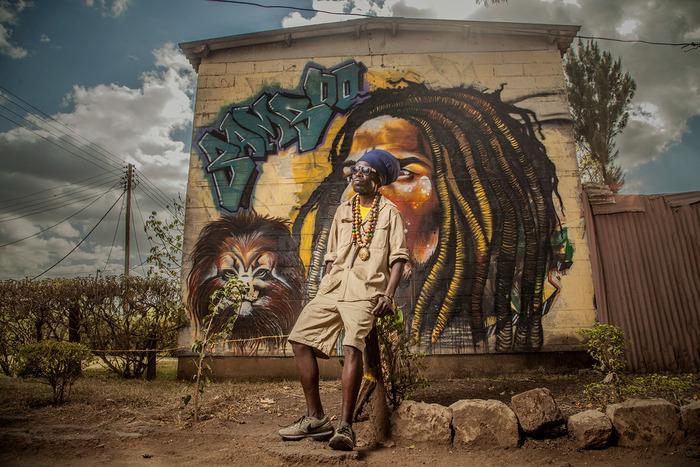 Dans Les Rues De Nairobi.