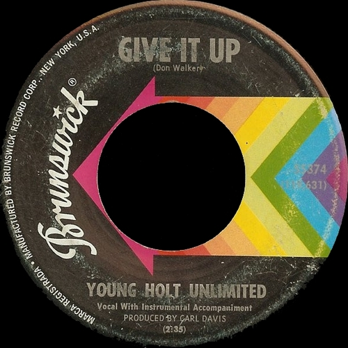 The Young-Holt Unlimited : Single SP Brunswick Records 55374 ( US ]