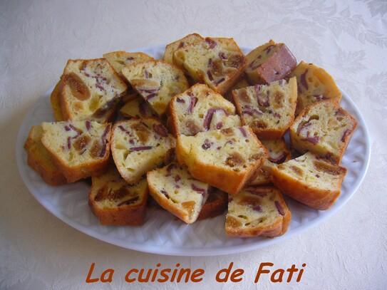 Cake aux figues et magret de canard