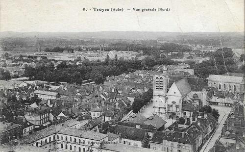 Troyes début du 20ème