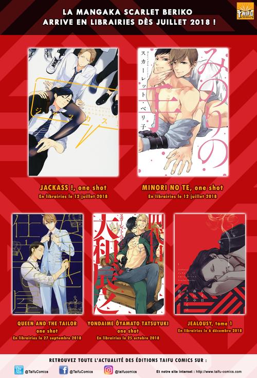 Scarlet Beriko arrive en force chez Taifu Comics