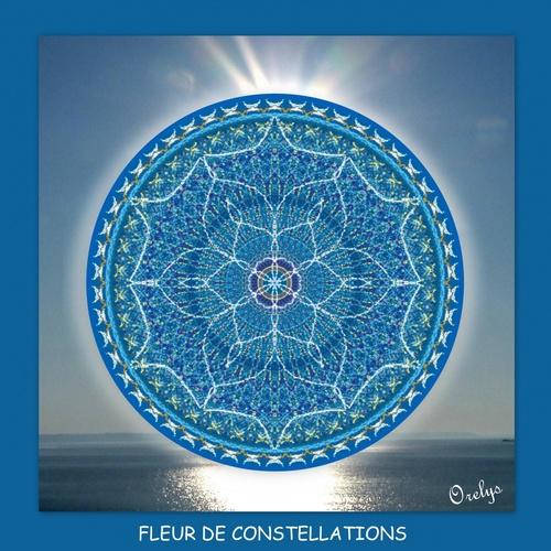 Mandala : fleur de constellations
