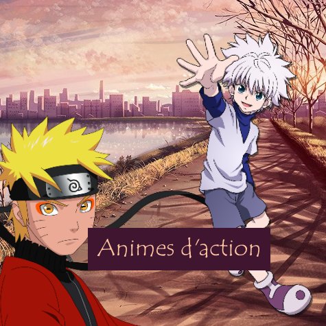 Animes d'action