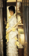 Portrait Of Miss Lloyd - James Jacques Joseph Tissot - www.jamestissot.org