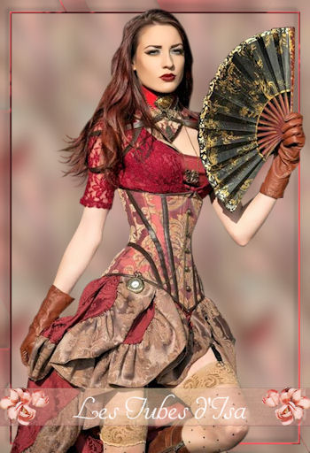 ST0012 - Tube femme steampunk