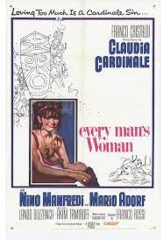 EVERY MAN'S WOMAN BOX OFFICE USA 1968