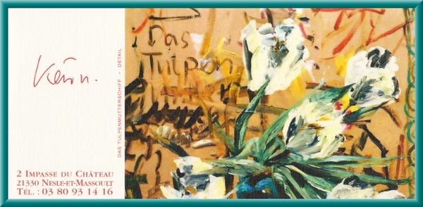 Karin Neumann expose ses magnifiques toiles  jusqu'au 11 mai...