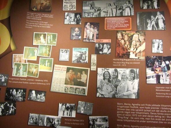 Le Musée ABBA à Stockholm