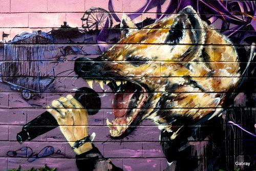Peintures murales à Ramonville-Saint-Agne en 31
