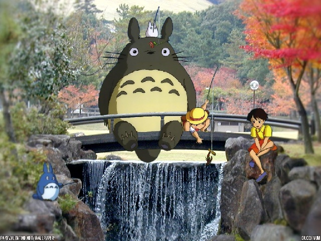 "connecez vous ""mon voisin totoro"" de myazaki ???"
