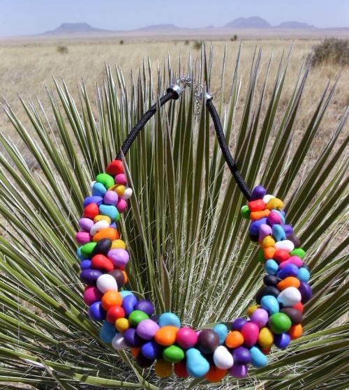 Collier coloré style Nouveau Mexique