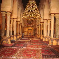 Grande Mosquée de Kairouan, Tunisie