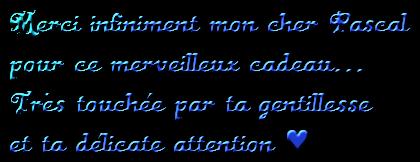 Merci Pascal