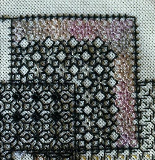 Blackwork journey - suite et fin du bloc 1