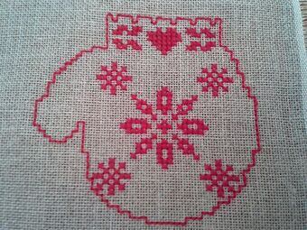 Broderie / Mes encours...