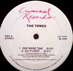 The Tones - One More Time