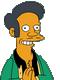 Patrick Guillemin voix francaise apu Simpson