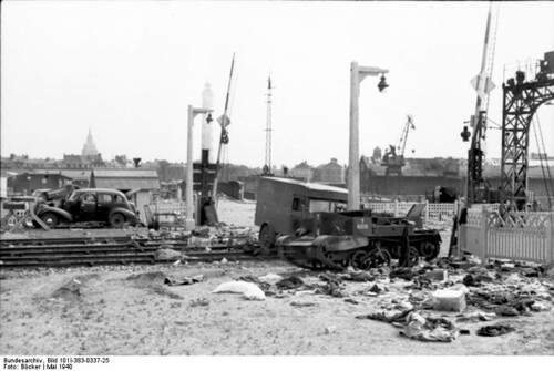 Photos siège de Calais