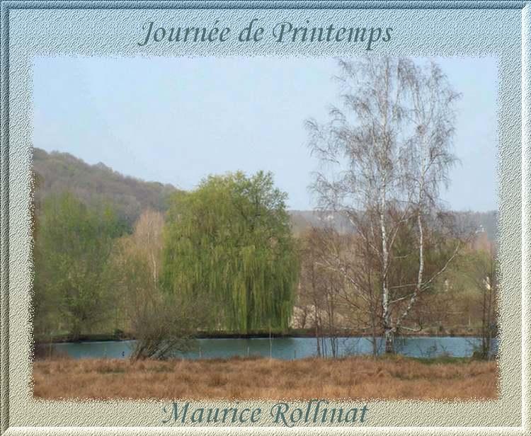 """"""" Journée de Printemps """" poème de Maurice Rollinat"""