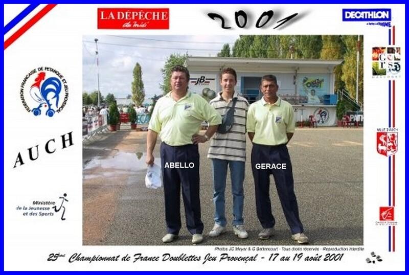 Les qualifiés du 06 au JP  2X2 DE 2000 0 2019