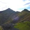 La Rhune depuis le sommet de Subizia ou Zubizia (570 m)