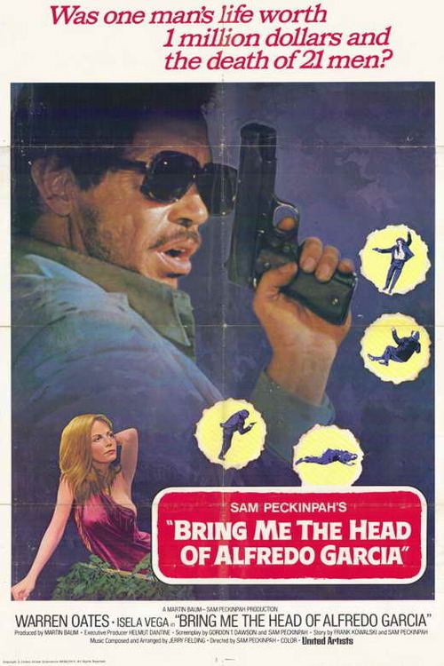 BRING ME THE HEAD OF ALFREDO GARCIA  box office usa 1974