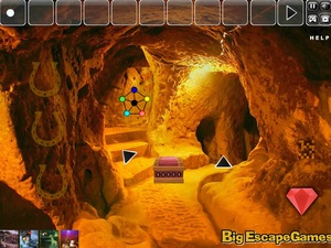 Jouer à Big golden cave land escape