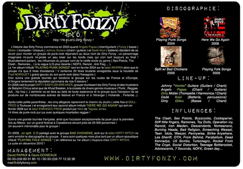 Biographie de Dirty Fonzy