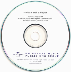 MICHELLE BELL - ALBUM SAMPLER (PROMO 1998)
