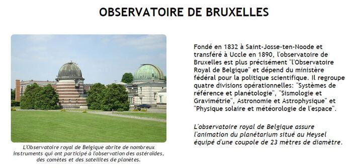 Observatoire Royal de Bruxelles