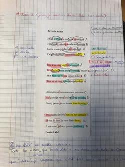 Enseignants - Une séquence sur la poésie lyrique en 4e