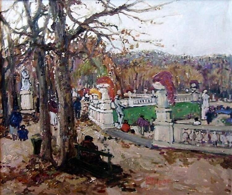 Marko Stupar. Au Jardin du Luxembourg