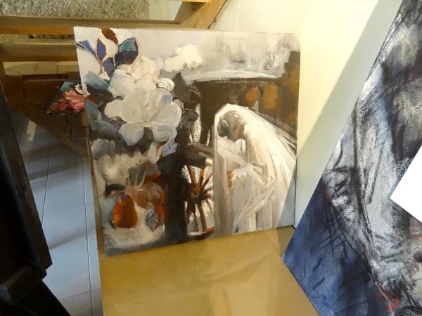 """""""Requiem"""", une  émouvante exposition de  peintures et de dessins de Maryvonne Jeanne-Garrault"""