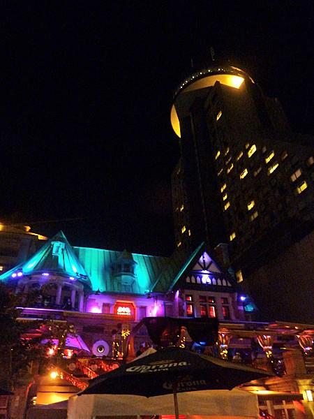 Québec Grande Allée nuit 4