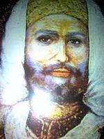 صورة لسيدي الحاج عيسى الأغواطي  كما رأها له سيدي علي حفيده