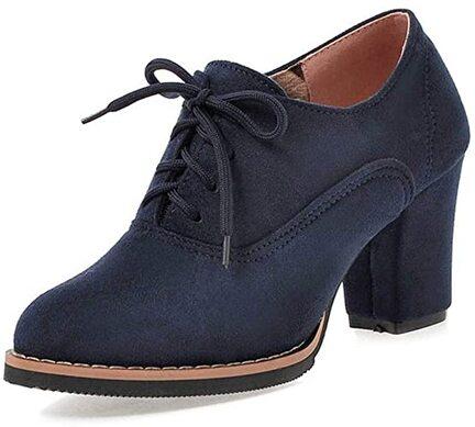 Ankle Boots Femme Bottines Chelsea Talon Vintage, Bottes Lacets Chaussure  Mariage Talon Compensé Shoes Escarpins éLéGants Heel High: 7.5cm:  Amazon.fr: Chaussures et Sacs
