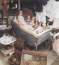 Le marché aux puces de Saint Ouen