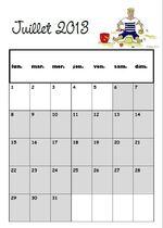 Nouveau projet : calendrier illustré !