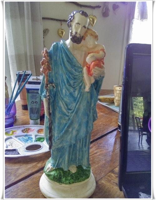 Une statuette que j 'attendais