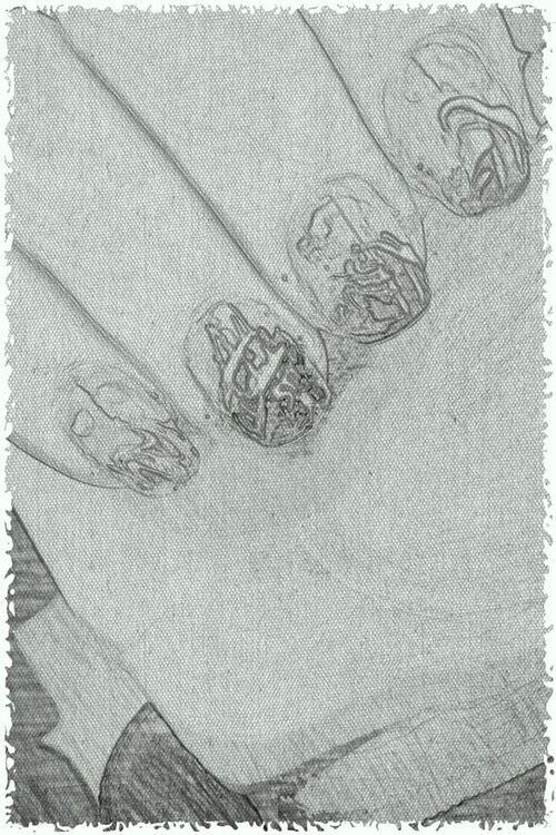Bateau Nail Art - inspirée par Robin Moses