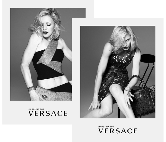 2014 - Madonna for Versace by Mert & Marcus (1)