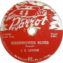 J.B. Lenoir : Eisenhower Blues (1954)