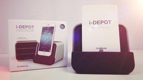 i-Depot de VRS Design : un support élégant et différent.