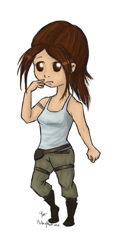Chibi Gaming Lara Croft (too cute)