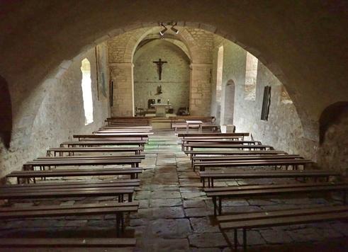 de Ségur sans se perdre jusqu'à la chapelle