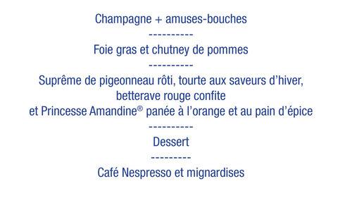 Dîner gastronomique au profit de Leucémie Espoir le 8 février 2014
