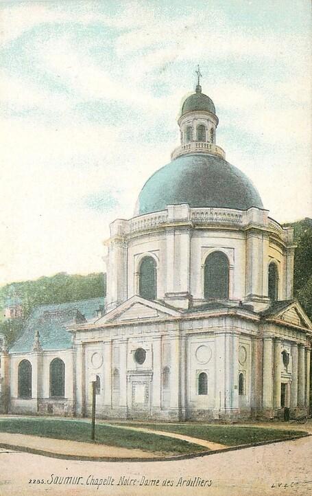 Saumur, chapelle Notre-Dame des Ardilliers