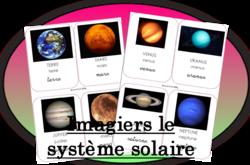 Imagier : Le système solaire