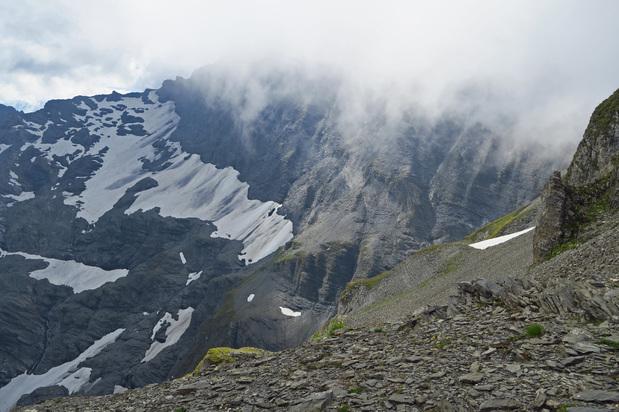 Emosson, vers le Col de Tenneverge