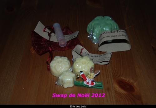 Swaps de Noël 2012